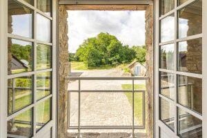Le gîte hortensia à Mesquer-Quimiac dispose d'une belle vue sur le verger